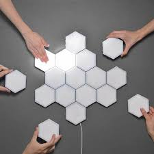 Hexotile Touch Light