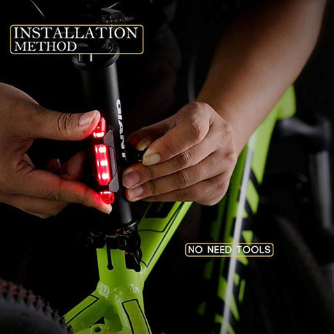 SOCY GEL USB Rechargeable LED Rear Taillight - findmelights.com