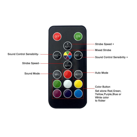YSH Remote Sound Activated Disco Lights - Findmelights.com
