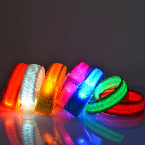 Party LED Glowing Wrist Band - findmelights.com