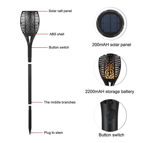 FIREBRIGHT Outdoor Solar Lights - findmelights.com