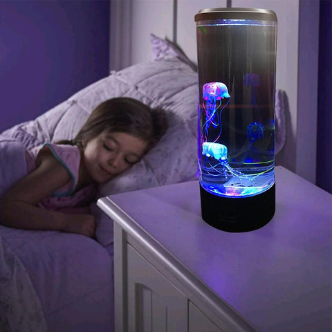 Relaxi 3d projection jellyfish lamp - findmelights.com