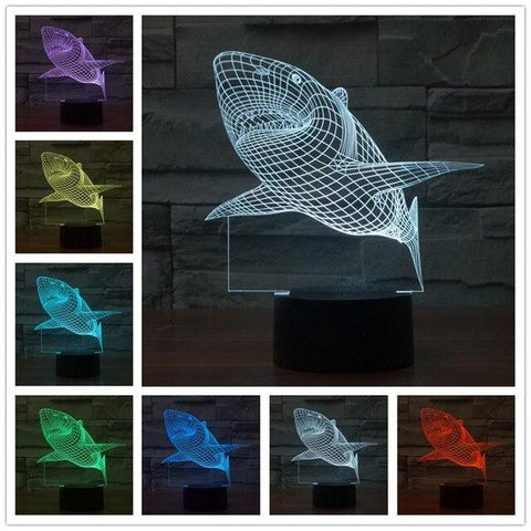 New generation 3d desk lamp - findmelights.com