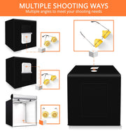 LED Camera Light Photo Box
