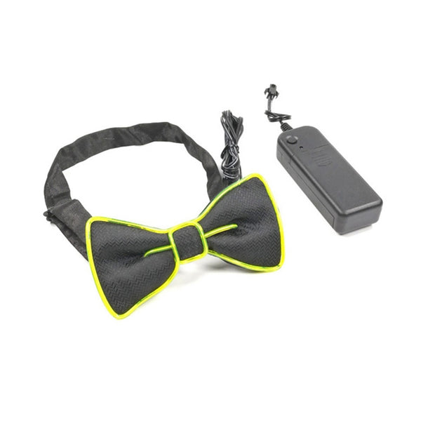 MAVERICK Glowing Colorful Party Bowtie