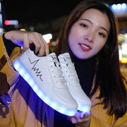 LED Lit Party Sneakers