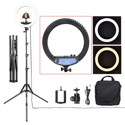 NEEWER 14inch Studio Photography Ring Lamp