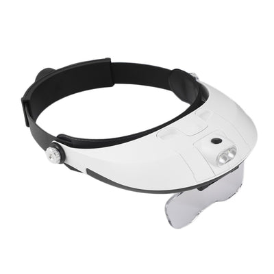 OUTAD LED Headband Magnifier Glasses