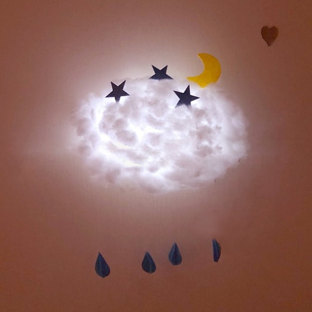 DREAMEZE™ Cotton Cloud Hanging Night Light