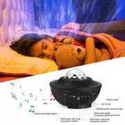 Galaxy Star LED Night Light Projector