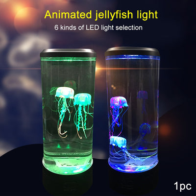 RELAXI™ Genuine 3D Projection Jellyfish Lamp