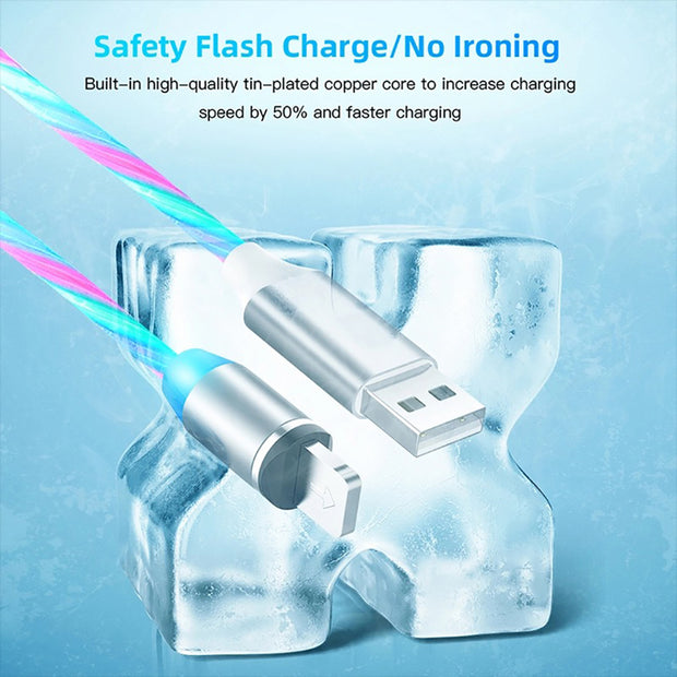 Smart LED Light USB Charger
