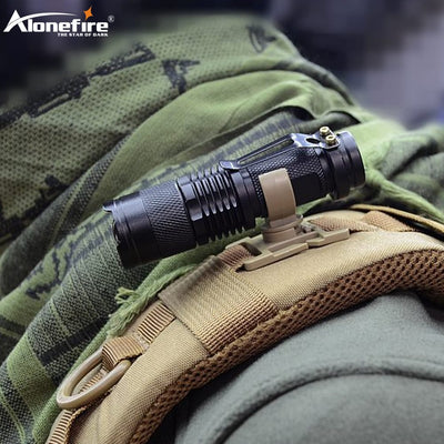 Alonefire Special Forces Flashlight + Clip