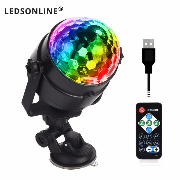 LEDSONLINE® Portable Party Suction Light