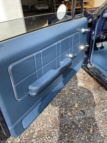 1967 Impala Custom built door panels by BUX Customs