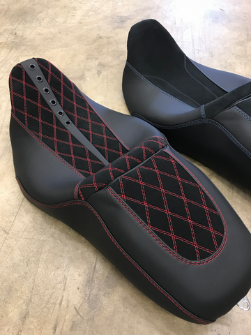 custom streetglide seat covers