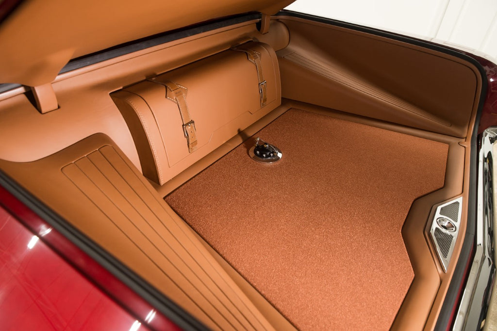 Custom trunk built in our Hot Rod Interiors