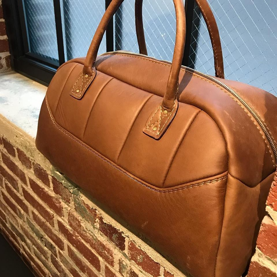 Overnight distressed BUX Duffle