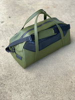 mens leather overnight duffle bag for any occasion.