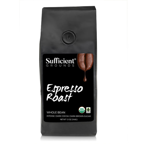 Sufficient Grounds Espresso Roast Whole Bean Coffee