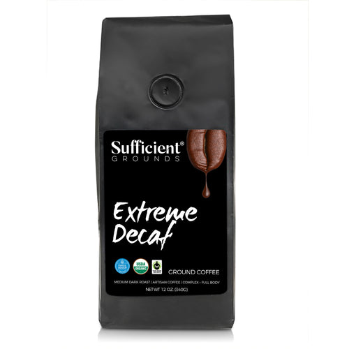 Sufficient Grounds Extreme Decaf Ground Coffee