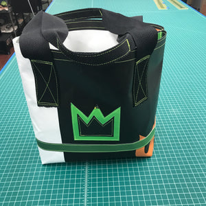 Upcycled Market Bag - Double Crown
