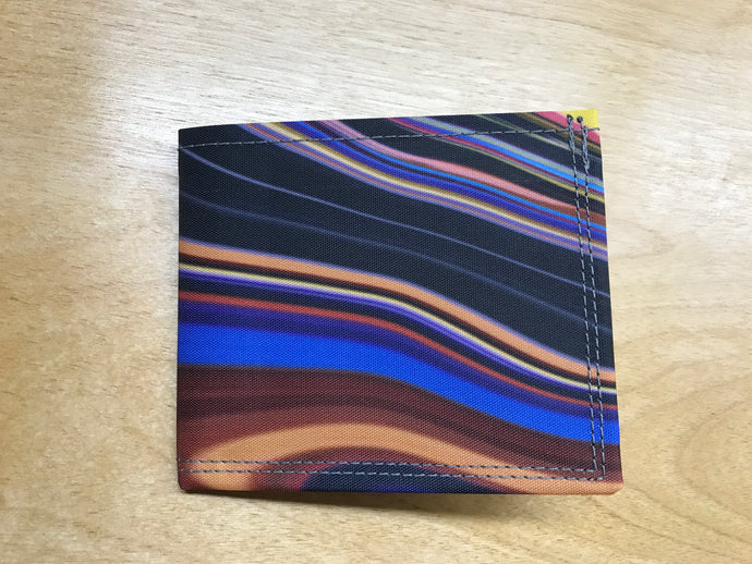 Bifold Wallet - Artist Print with RFID Protection