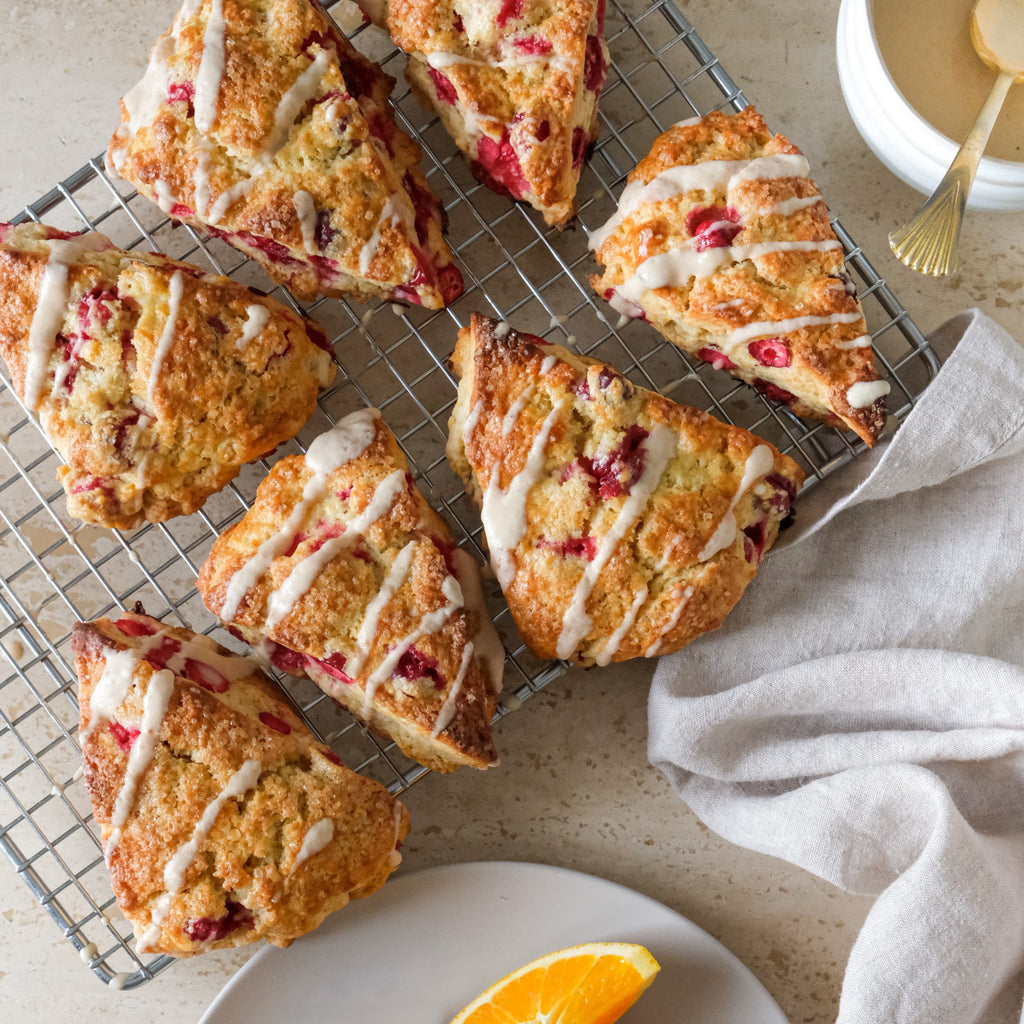 CRANBERRY & PUMPKIN SPICE SCONES