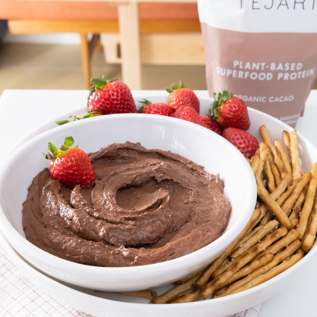 BROWNIE BATTER HEALTHY SNACKING DIP