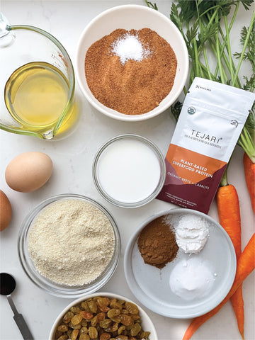 Organic Beets & Carrots Blend with carrot cake ingredients