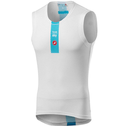Team Sky 2019 Pro Mesh Sleeveless Baselayer Small Only