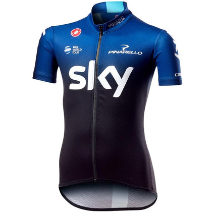 Team Sky 2019 Kids Fan Jersey size 12-14 Only