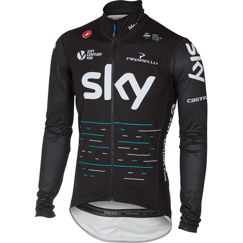 Team Sky Pro Light Rain Jacket - XS Only