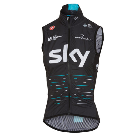 Team Sky 2017 Pro Light Wind Vest