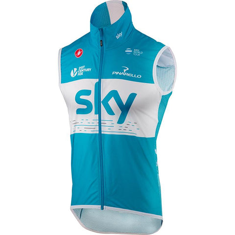 Team Sky 2018 Pro Light Wind Vest