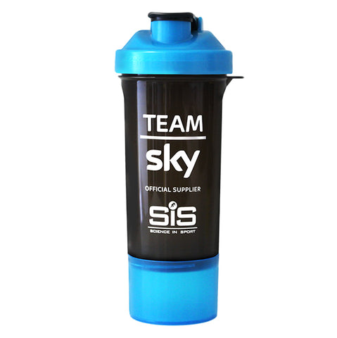 Team Sky Blue/Black Smart Shaker 500ml