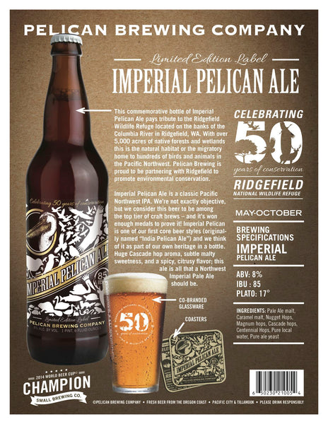 Pelican Brewing Company Collaboration for Conservation