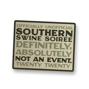 Southern Swine Soiree 2020 Decal