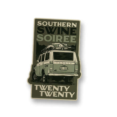 Southern Swine Soiree 2020 Decal FJ55