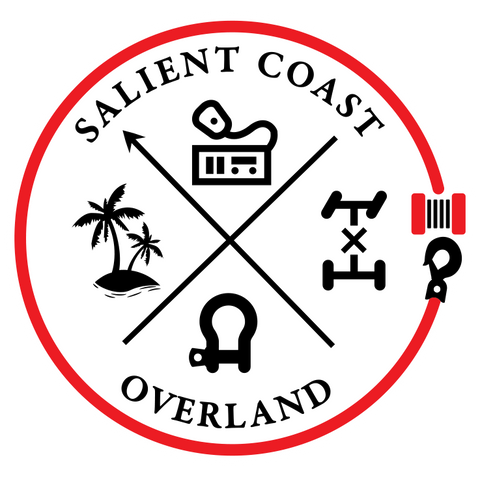 Salient Coast Overland Logo Decal