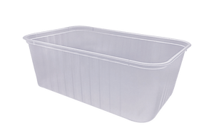 1000ml Ribbed Freezer Grade Container (500pcs)