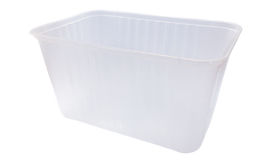 1500ml Ribbed Freezer Grade Container (250pcs)