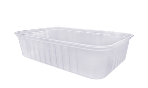 680ml Ribbed Freezer Grade Container (500pcs)