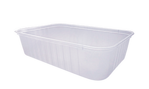 750ml Ribbed Freezer Grade Container (500pcs)