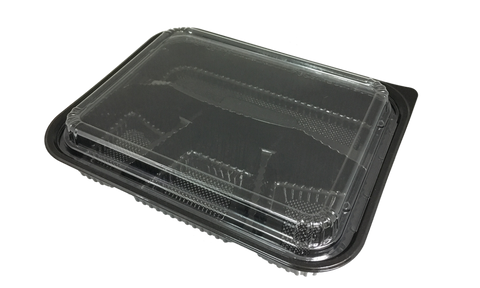 Japanese 4-Compartment Bento Boxes with Lid (100set)