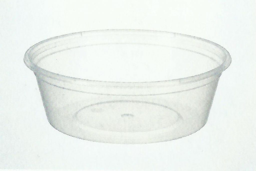 220ml/8oz Round Containers (500pcs)