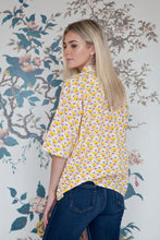 Load image into Gallery viewer, Pink & Lemon Cloud Print Shirt