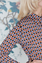 Load image into Gallery viewer, Geometric Print Jersey Shirt