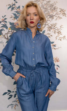 Load image into Gallery viewer, Denim Cotton Jumpsuit