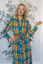 Load image into Gallery viewer, Multi - Coloured Long Sleeve Shirt Dress